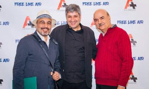 رضا عطاران,ایرج طهماسب,افتتاحیه,کاناد,آزاد مثل هوا