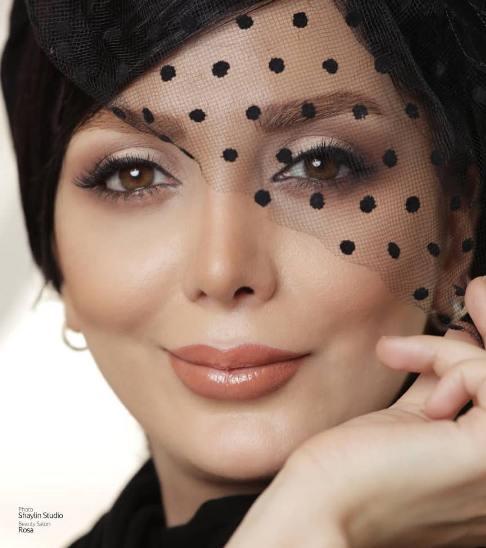 چهره رویا میرعلمی به عنوان مدل آرایشی