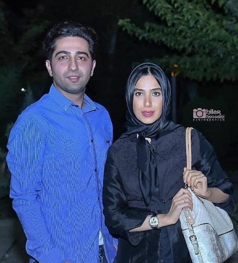 علی سخنگو و همسرش سارا نجفی