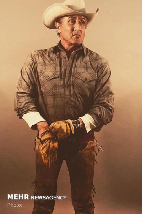 سيلوستر استالونه,رمبو 5,فيلم رمبو 5,سيلوستر استالونه در لباس کابوي