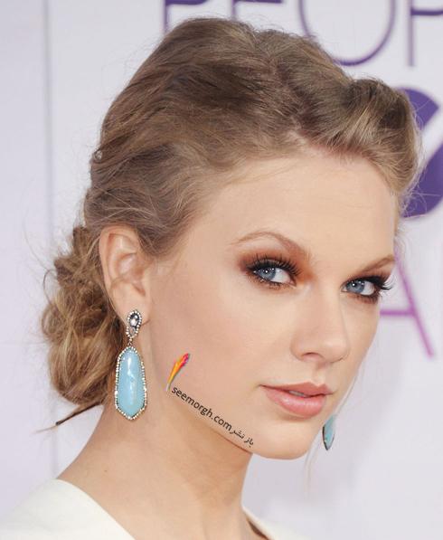 مدل مو,مدل مو جمع,بهترين مدل مو جمع,مدل مو جمع به سبک تيلور سويفت Taylor Swift - مدل مو شماره 2