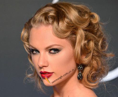 مدل مو,مدل مو جمع,بهترين مدل مو جمع,مدل مو جمع به سبک تيلور سويفت Taylor Swift - مدل مو شماره 10