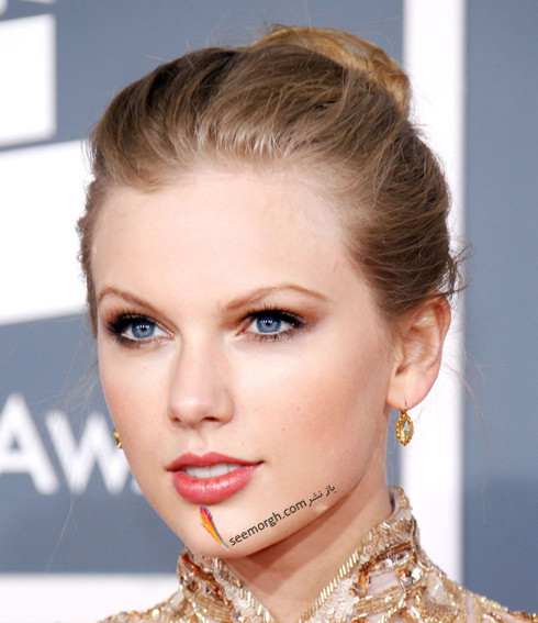 مدل مو,مدل مو جمع,بهترین مدل مو جمع,مدل مو جمع به سبک تیلور سویفت Taylor Swift - مدل مو شماره 9