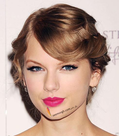 مدل مو,مدل مو جمع,بهترين مدل مو جمع,مدل مو جمع به سبک تيلور سويفت Taylor Swift - مدل مو شماره 8