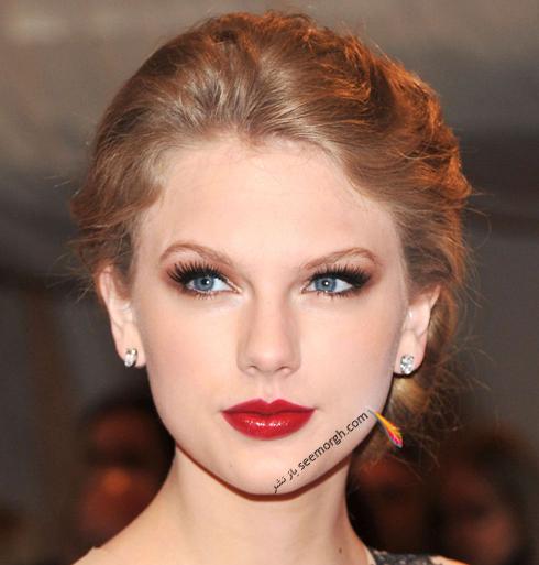 مدل مو,مدل مو جمع,بهترين مدل مو جمع,مدل مو جمع به سبک تيلور سويفت Taylor Swift - مدل مو شماره 7