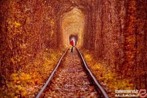 تونل عشق در فصل پاییز