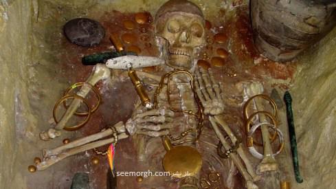 جواهرات باستان,طلا,زیورآلات,جواهرسازی,گردن بند