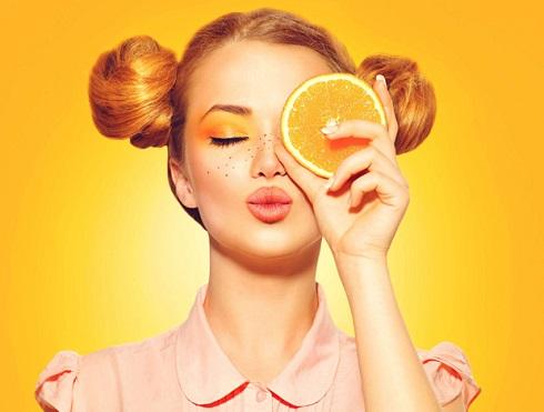 پرتقال,ویتامین c برای پوست