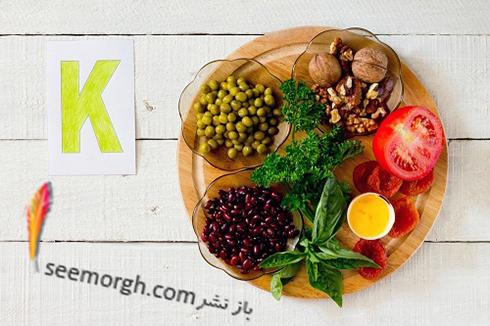 ویتامین k,منابع ویتامین k