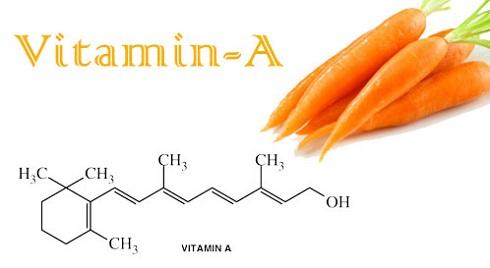 ویتامین A  هویج