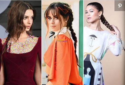 مدل مو,مدل مو پاییزی,مدل مو برای پاییز 2018,مدل مو پاییزی به پیشنهاد ستارگان هالیوودی - مدل مو شماره 5