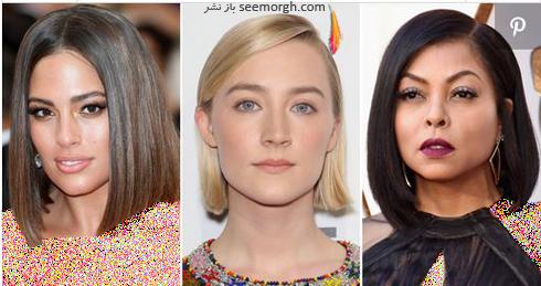 مدل مو,مدل مو پاییزی,مدل مو برای پاییز 2018,مدل مو پاییزی به پیشنهاد ستارگان هالیوودی - مدل مو شماره 3