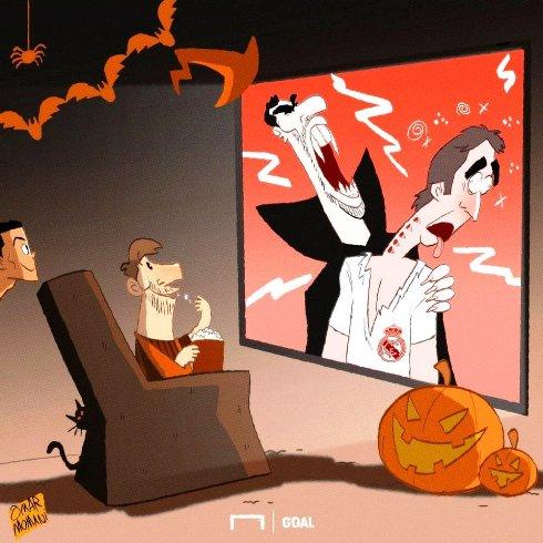 هالووین لوپتگی بدون حضور مسی و رونالدو!
