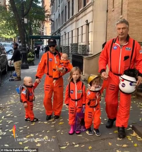 جشن هالووین,گریم هالووین,ترسناک, گریم سلبریتی ها,آتشنشان,الک بالدوین