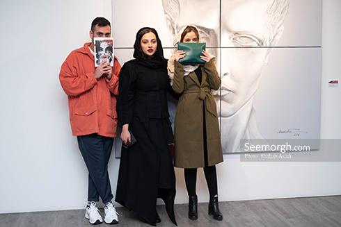 آناهیتا درگاهی,نمایشگاه نقاشی,اشکان خطیبی