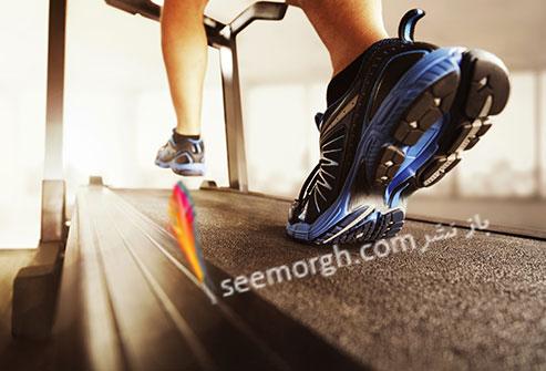 ورزش روی تردمیل