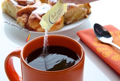 قهوه و شیرین کننده مصنوعی