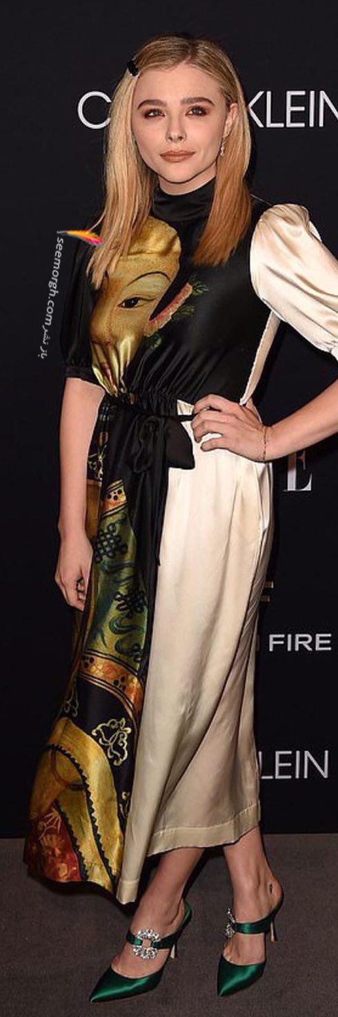 مدل لباس,مدل لباس کلویی گریس Chloë Grace در مراسم تقدیر از زنان هالیوود در مجله Elle