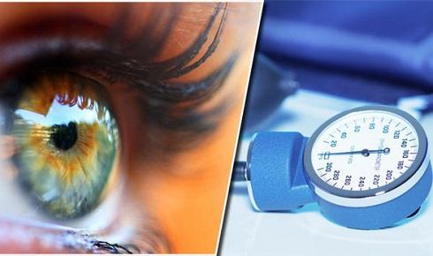 فشار خون,چشم