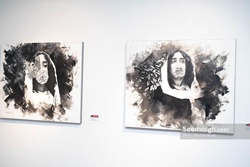 آناهیتا درگاهی,الهه حصاری,نمایشگاه نقاشی