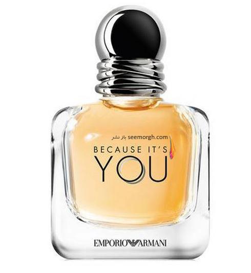 عطر,عطر پاییزی,عطر Because It's You از برند امپریو آرمانی Emporio Armani
