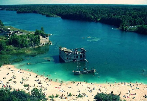 زندان زیر آبی در کشور استونی