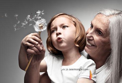 نوه و مادربزرگ،پیر و کودک