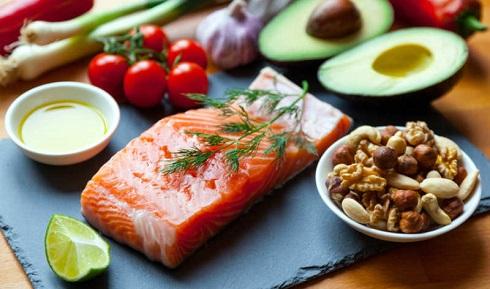 رژیم غذایی سالم درمان کبد چرب