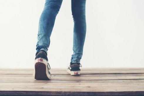 راه رفتن,قدم زدن