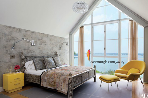 کاغذ دیواری,دکوراسیون اتاق خواب,کاغذ دیواری برای اتاق خواب,جدیدترین مدل های کاغذ دیواری برای اتاق خواب,کاغذ دیواری با طرح سنگ برای اتاق خواب