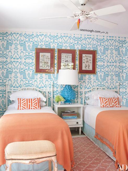 کاغذ دیواری,دکوراسیون اتاق خواب,کاغذ دیواری برای اتاق خواب,جدیدترین مدل های کاغذ دیواری برای اتاق خواب,کاغذ دیواری با طرح های اسلیمی برای اتاق خواب