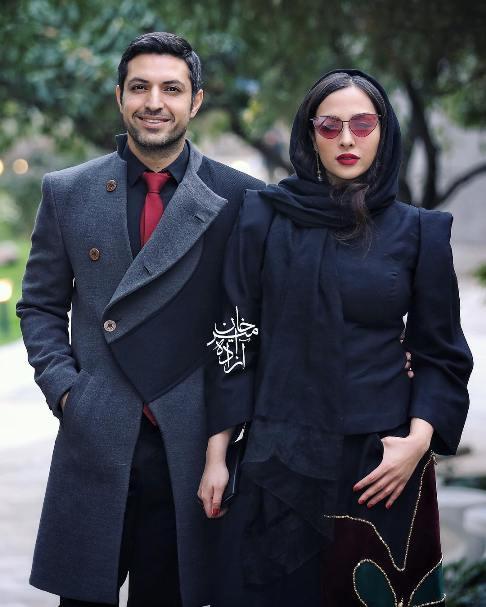 اشکان خطیبی و آناهیتا درگاهی در افتتاحیه نمایشگاه نقاشی