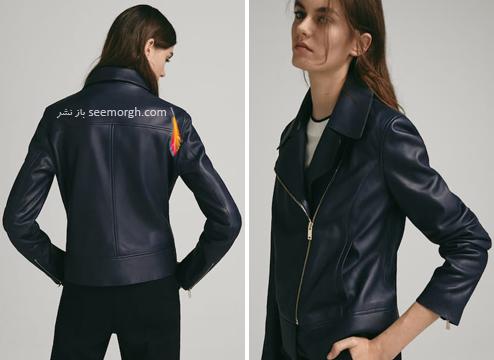 کت,کت چرم,کت چرم زنانه,کت چرم برای پاییز,ماسیمو دوتی,کلکسیون کت چرم زنانه ماسیمو دوتی Massimo Dutti برای پاییز 2018