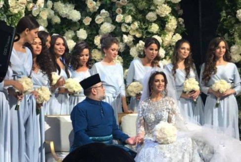 ازدواج دختر شایسته با پادشاه مالزی