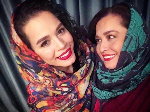 عکس منتشر شده توسط مهراوه شریفی نیا از خودش و خواهرش