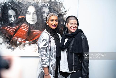 آناهیتا درگاهی,نمایشگاه نقاشی,اشکان خطیبی,ملانی
