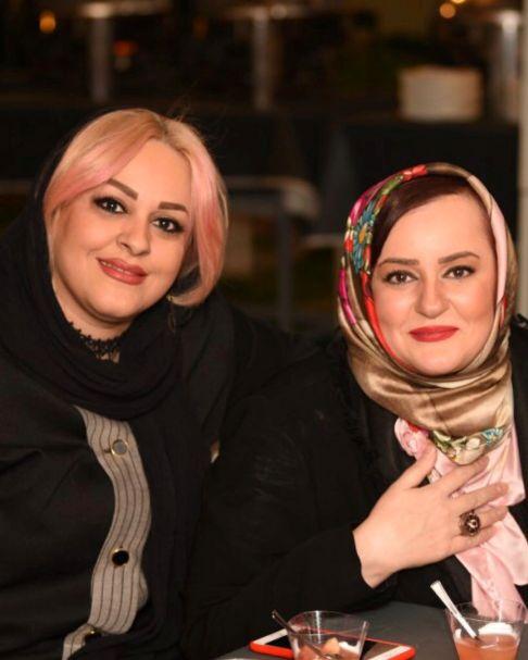 نعیمه نظام دوست و خواهرش نادیا نظام دوست