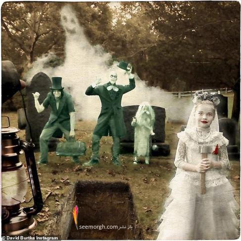جشن هالووین,گریم هالووین,ترسناک, گریم سلبریتی ها,نیل پاتریک هریس,روح