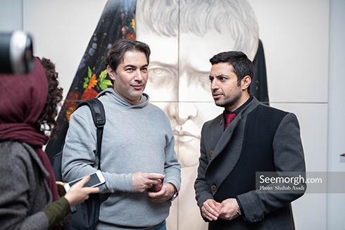 آناهیتا درگاهی,نمایشگاه نقاشی,اشکان خطیبی,پارسا پیروزفر