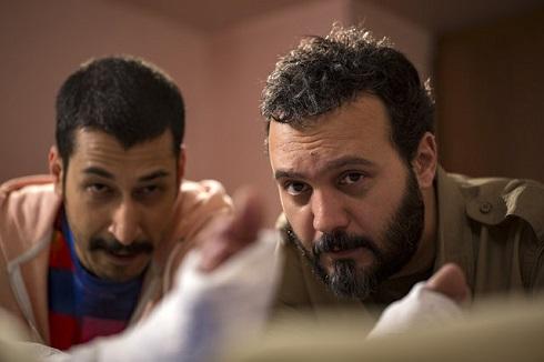 کامبیز دیرباز و بهرام افشاری در مجموعه «شرایط خاص»