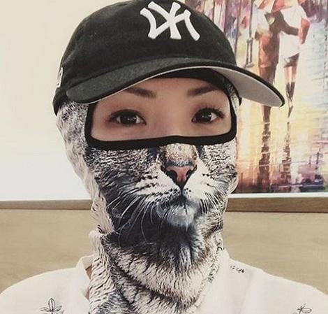 ماسک صورت در چین