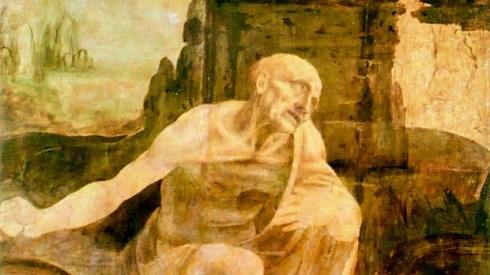 اثر ناتمام داوینچی,نقاشی داوینچی,لئوناردو داوینچی,موزه واتیکان,نقاشی ناتمام داوینچی در موزه واتیکان