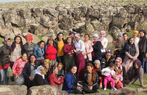 روستای زنان در سوریه
