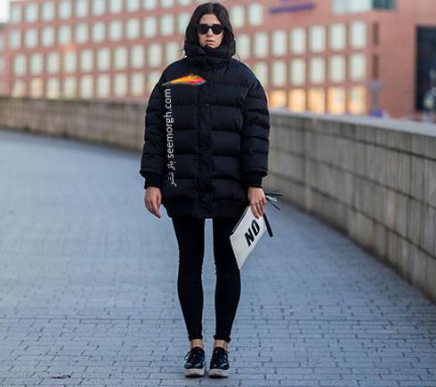 کت,کت زنانه,کت زمستانی,کت زنانه زمستانی,کت های زنانه که هرگز قدیمی نمی شوند,کت های زنانه که هرگز دمده نمی شوند,کاپشن بادی مشکی