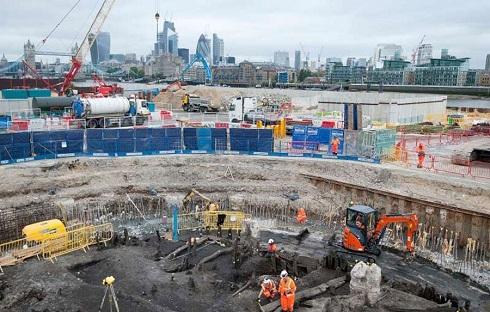 کشف اسکلت 500 ساله در جنوب لندن