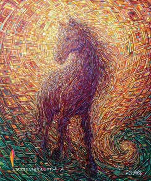 نقاشی رنگ و روغن,Eduardo Rodriguez Calzado