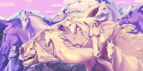 چند اسب در عکس زیر مشاده می کنید