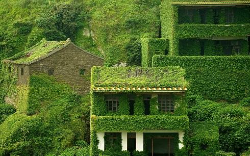 تصویر زیبا از روستای متروکه هوتوان