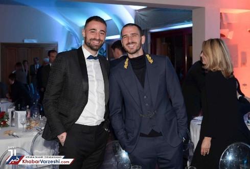 بازیکنان در جشن باشگاه یوونتوس 2