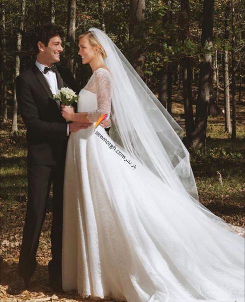 کارلی کلاوس,عروسی کارلی کلاوس,مراسم عروسی کارلی کلاوس Karlie Kloss و جاشوا کوشنر Joshua Kushne